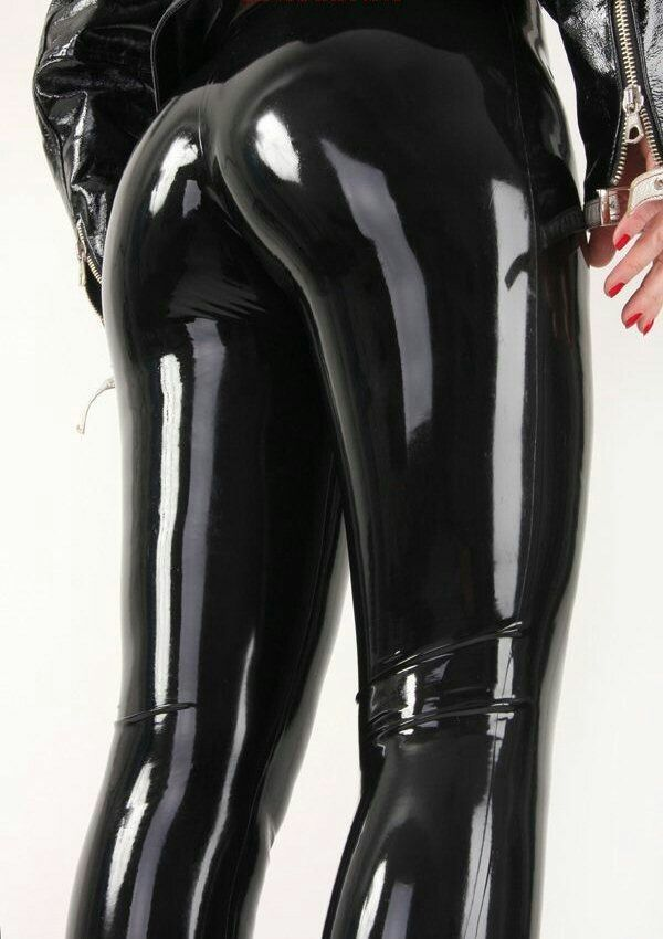 latex pants tight Hot