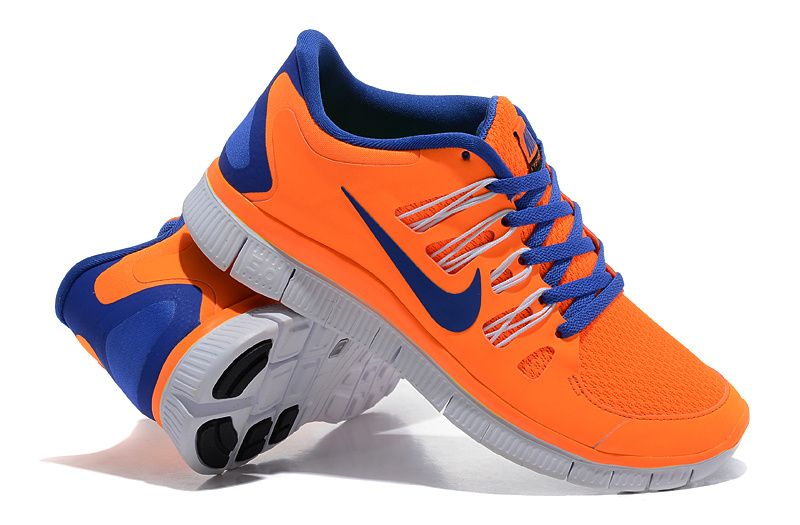 huge selection of 31445 f5a25 Herren Nike Free Run 5.0 Schuhe Orange Blue