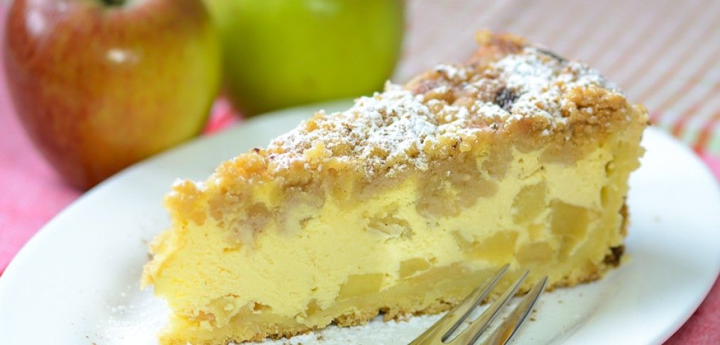 Apple-crumble-cheesecake | Connys Foodblog