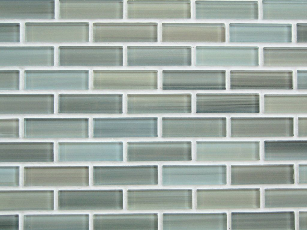 Sample - Reflections Hand Painted Glass Mosaic Subway Tiles ...