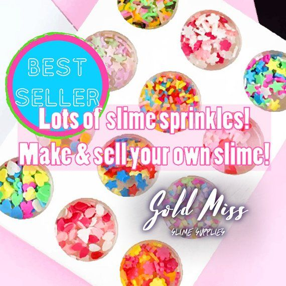 Slime Sprinkles Food Decorations Cheap / Slime Charms Candy