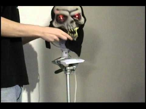 How To Make An Animatronic prop Haunted House Pinterest