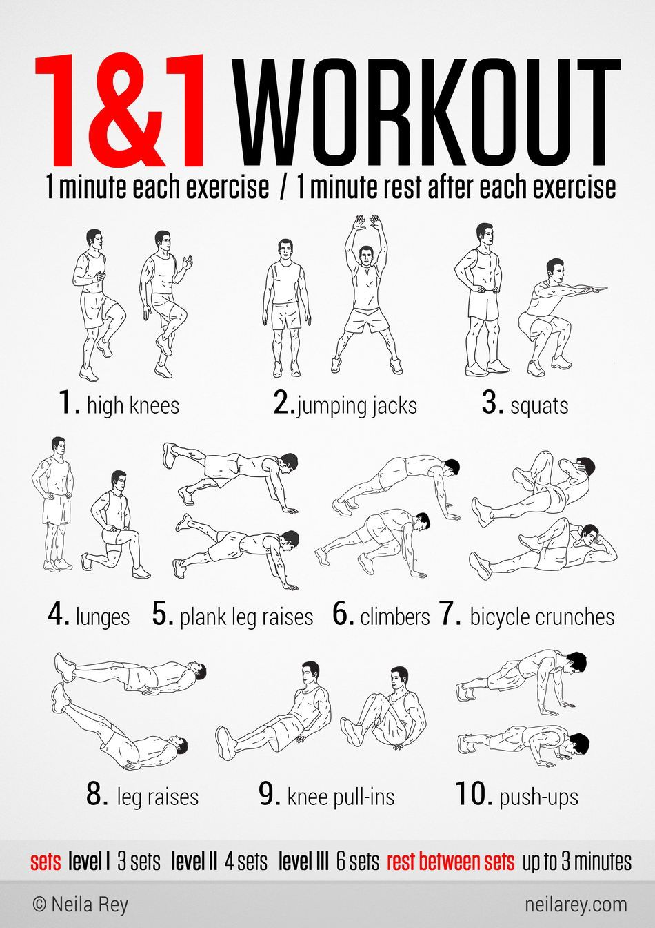 1&1 High Intensity Workout... this will make you appreciate how long ...