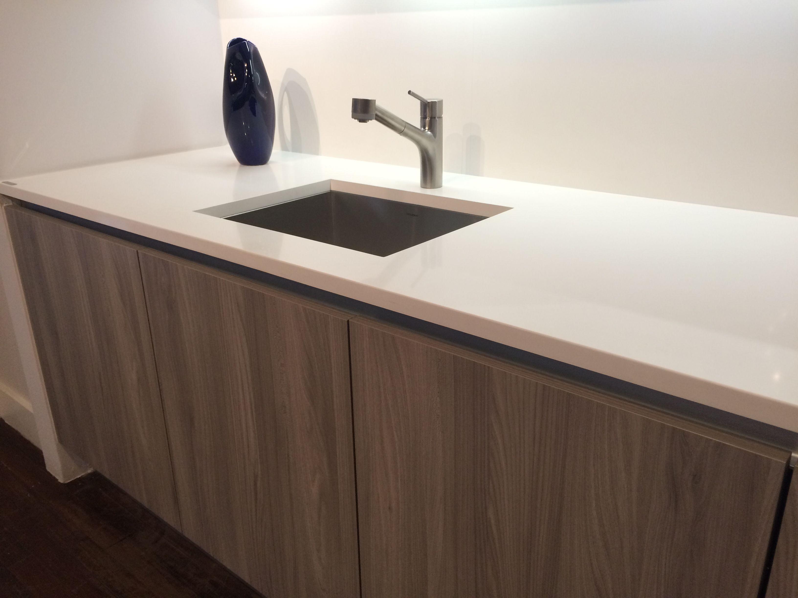 Cesar cabinets - grey oak - at Manhattan Center for Kitchen & Bath ...