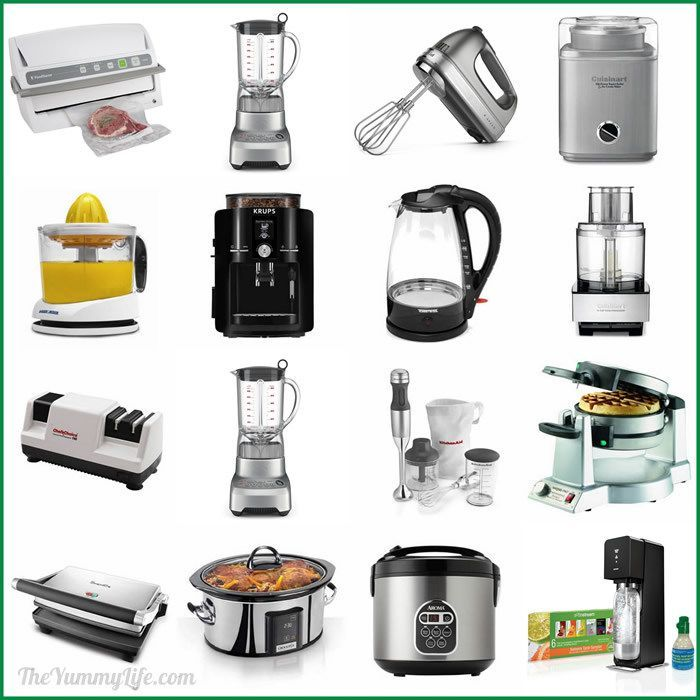 15 Awesome Small Kitchen Appliances For Your Own Wish List Or As