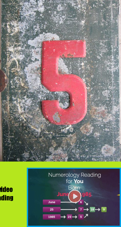 Five: The spiritual meaning of number Five deals with travel