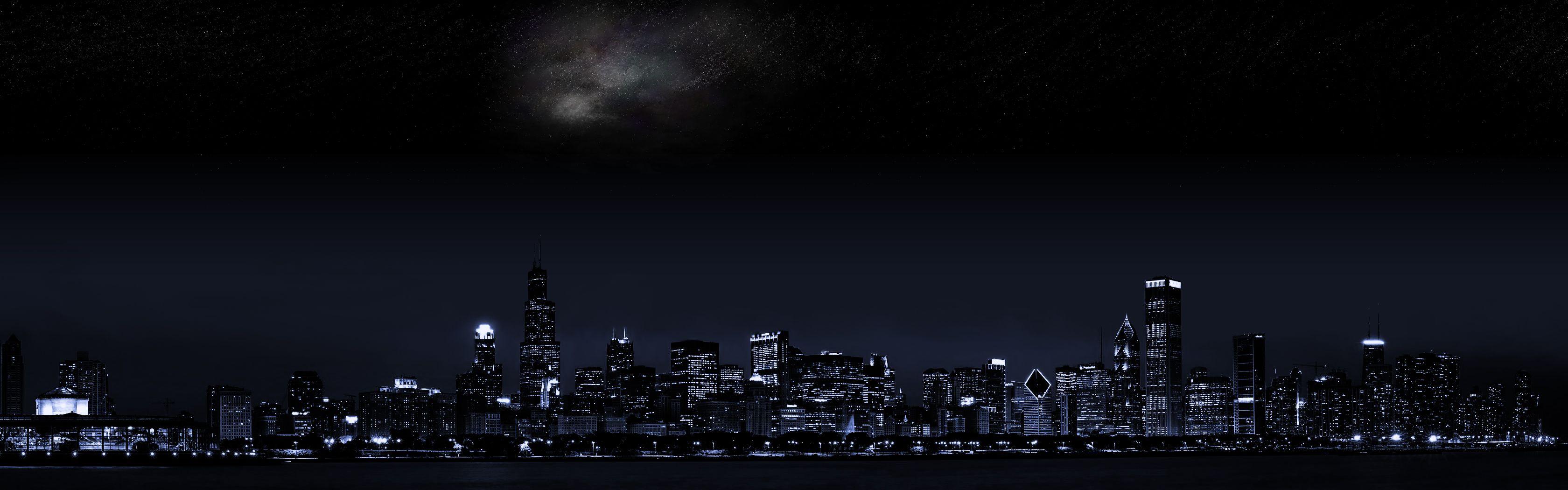 Chicago at Night | Фоны твиттера, Винтажные цветочные фоны ...