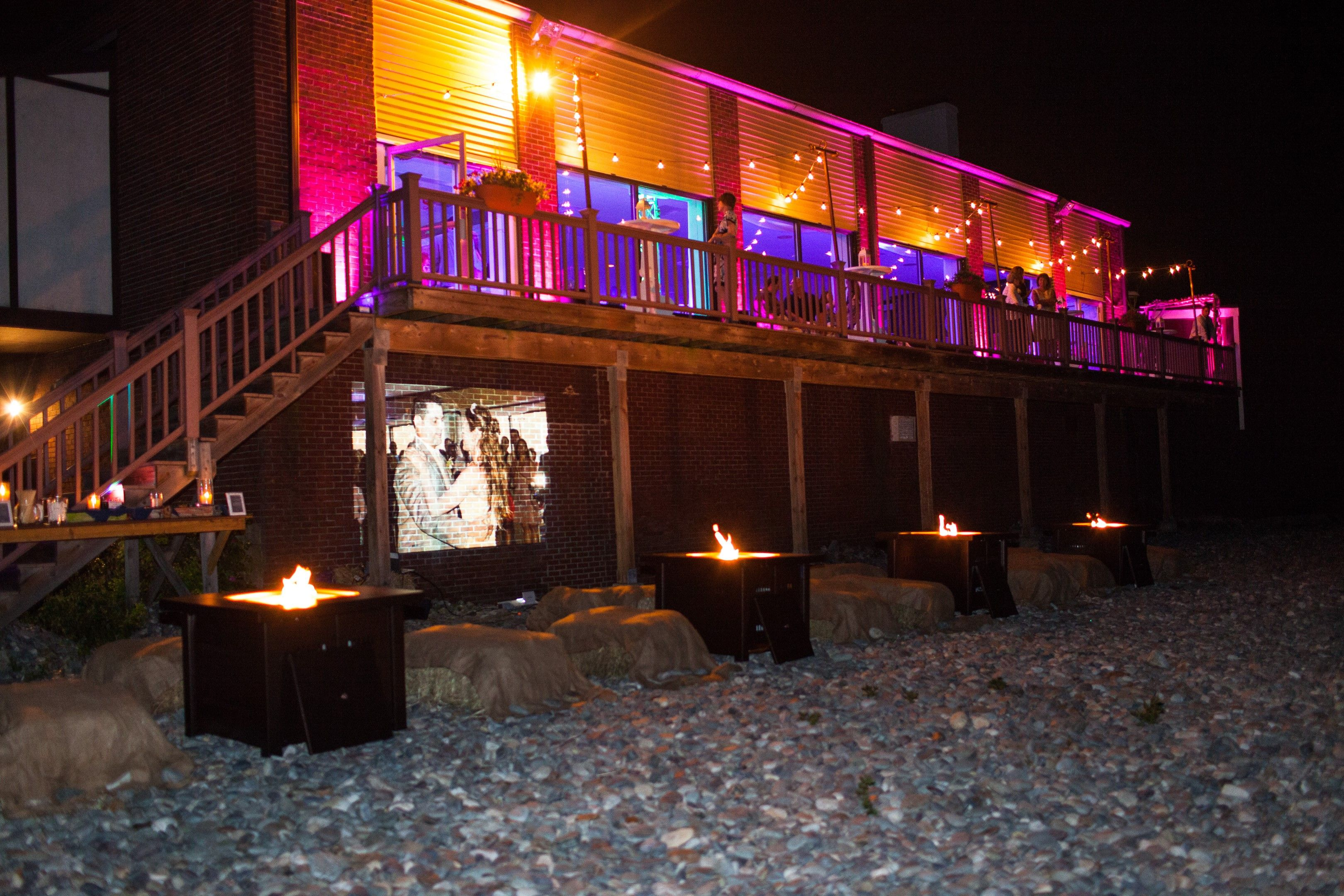 The Fire Pit Finale Wedding After Hours Party At Oceanview Of Nahant Ma