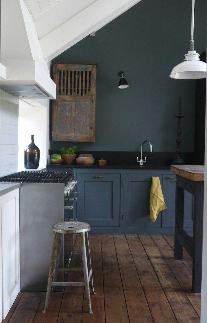 Comment repeindre une cuisine, idées en photos! Pinterest - Comment Repeindre Un Meuble En Bois Vernis