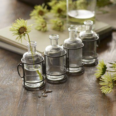 Pin By Tyger Clayton On Apothecary Style Kitchen Ideas Bottles Decoration Apothecary Bottles Glass Cylinder Vases