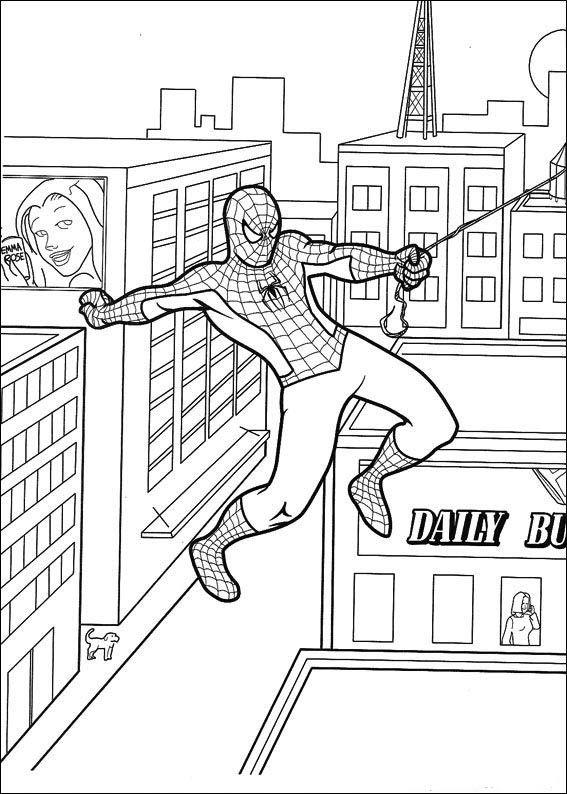 Spiderman Malarbilder 51 Malarbocker Spiderman Spindelmannen