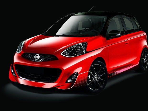 Nissan terá March com visual esportivo no Salão de SP - http://anoticiadodia.com/nissan-tera-march-com-visual-esportivo-no-salao-de-sp/