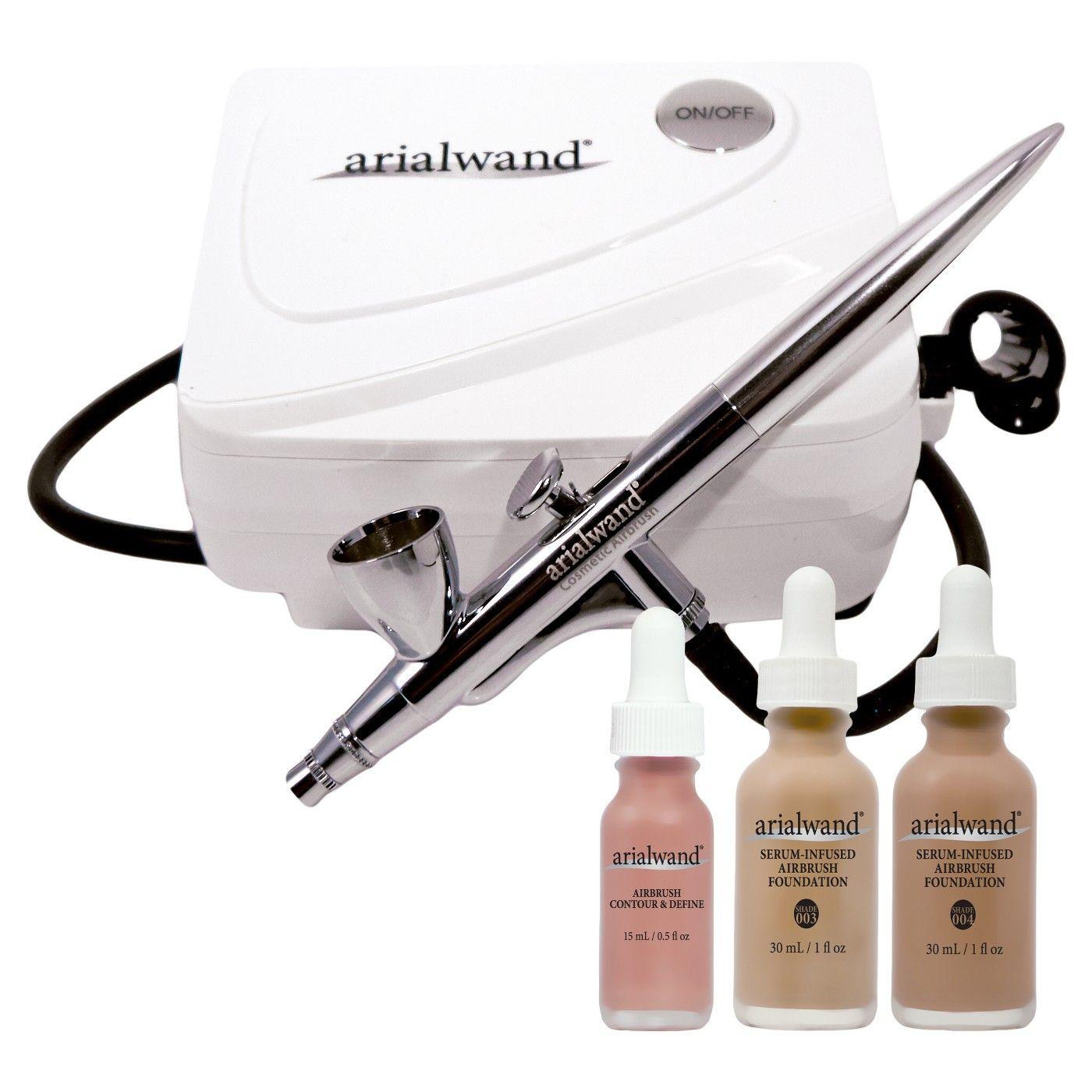Arialwand airbrush kit with serum infused foundation 1