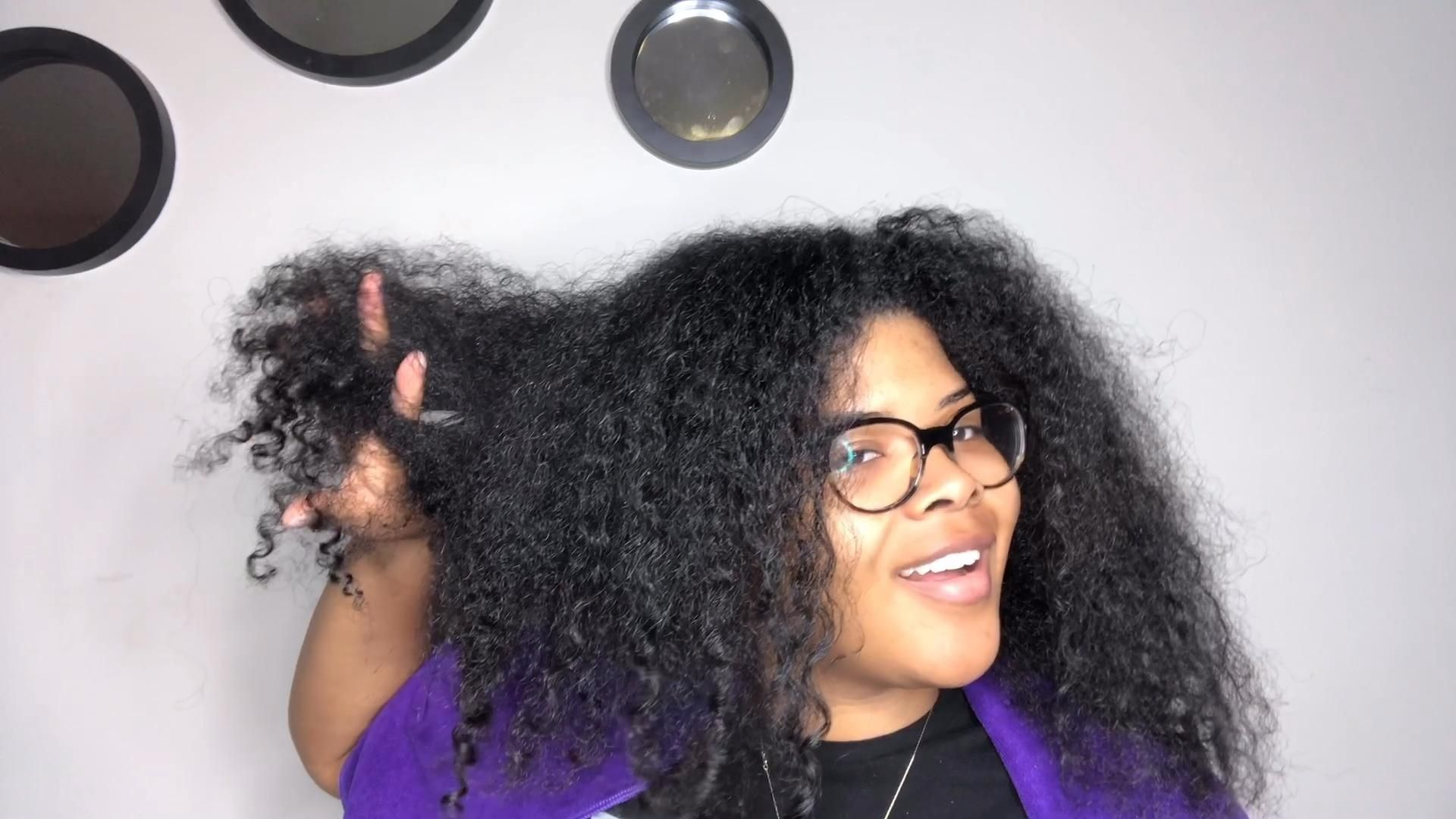 Detangling with a brush and wide tooth comb #detangler #naturalhair #naturalhaircare #naturalremedy #healthyhair #healthyhairjourney #washdayroutine