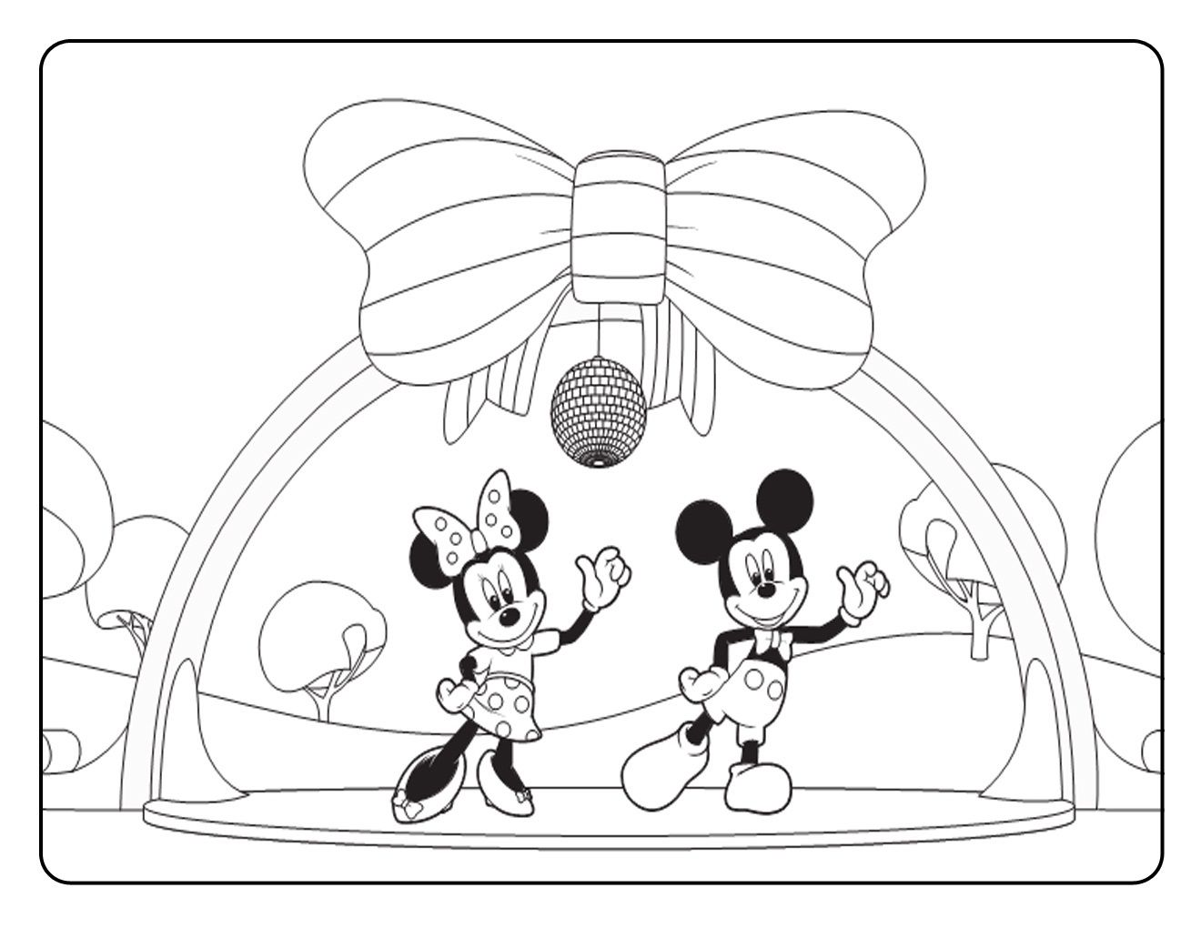 Free Printable Mickey Mouse Coloring Pages For Kids | Wedding ...