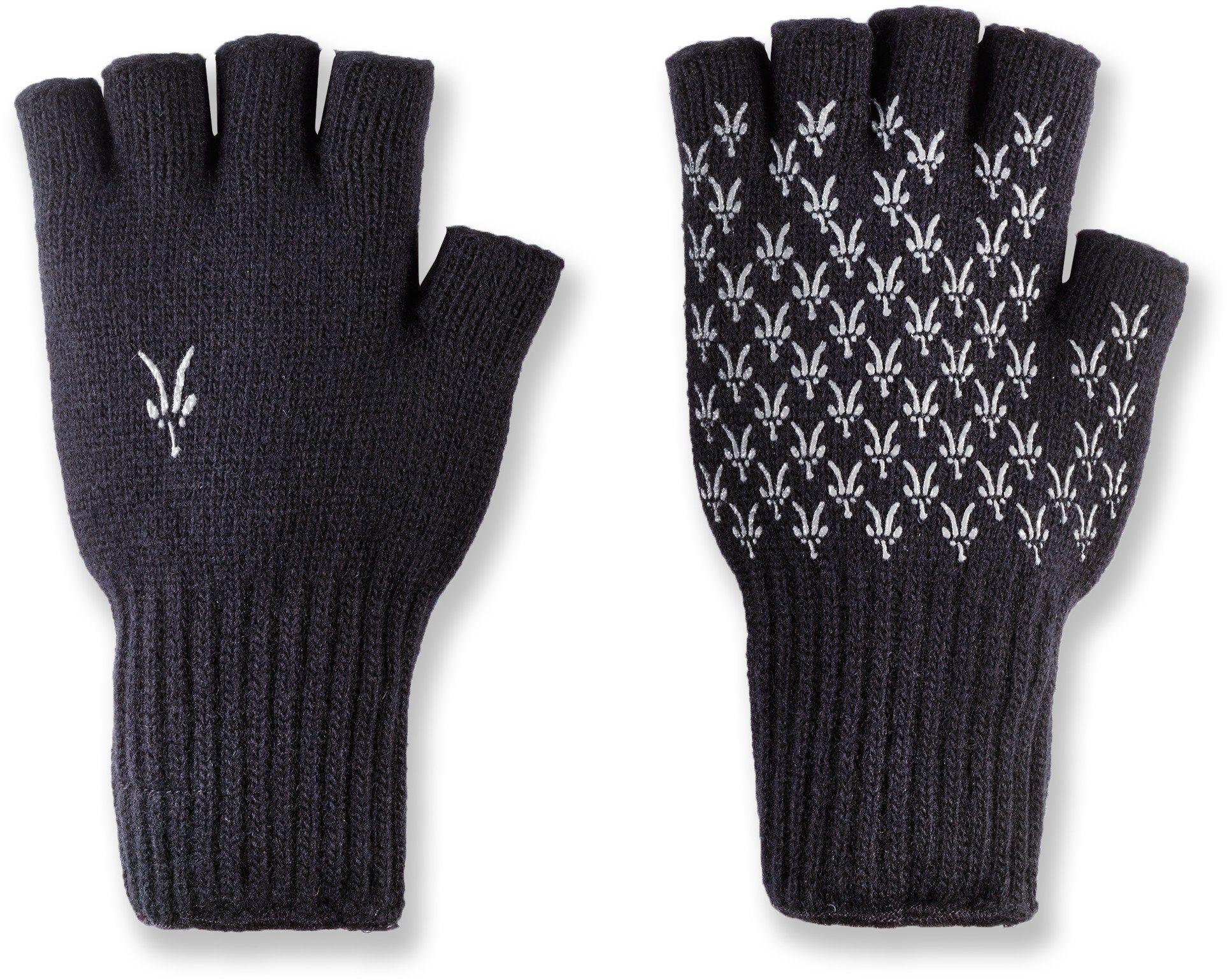 Ibex knitty gritty fingerless wool gloves rei coop