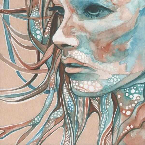 Human Faces by Tamara Phillips, via Behance