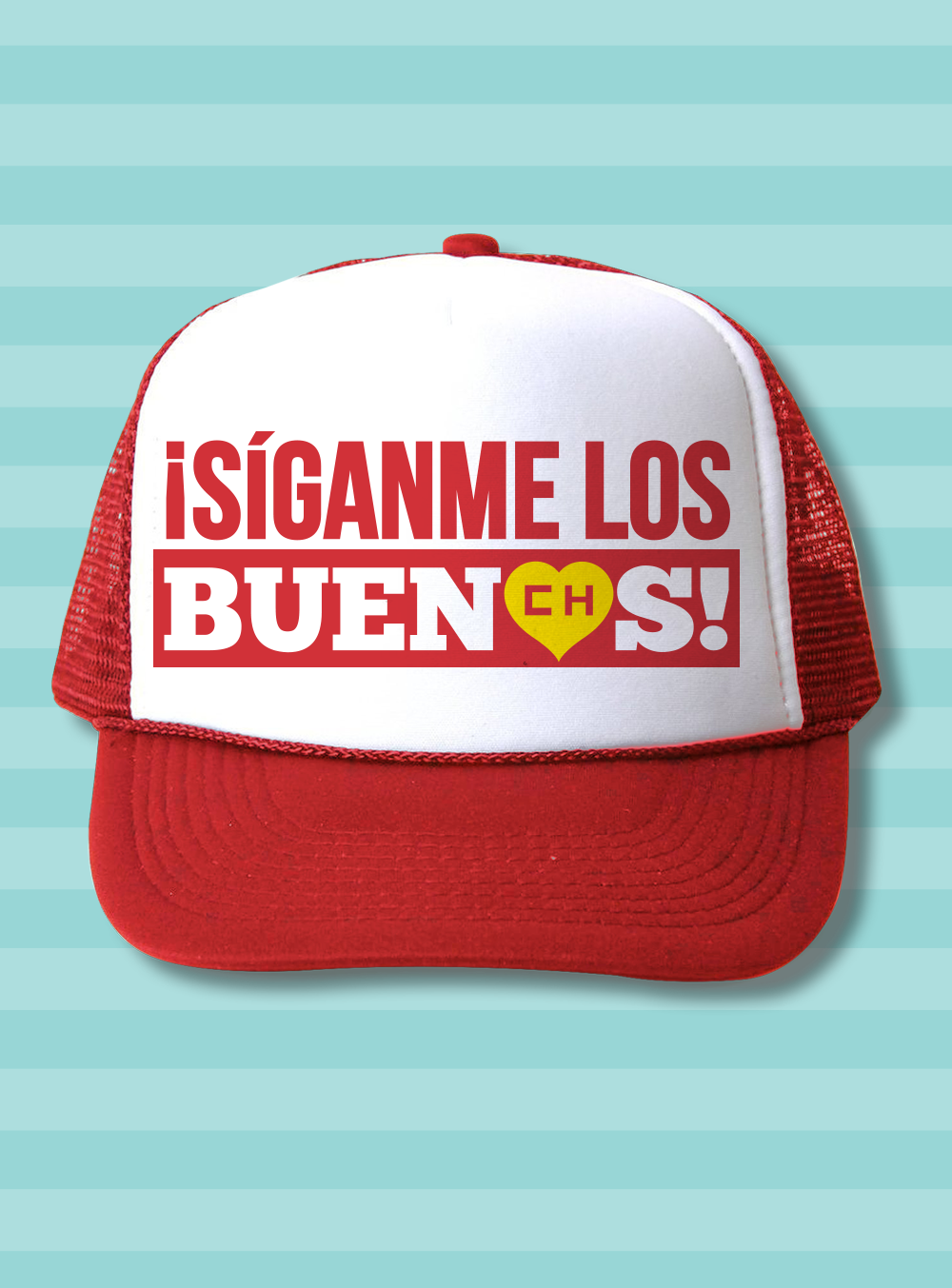 El Chapulín Trucker Hat - Siganme …  5ea586cdc06