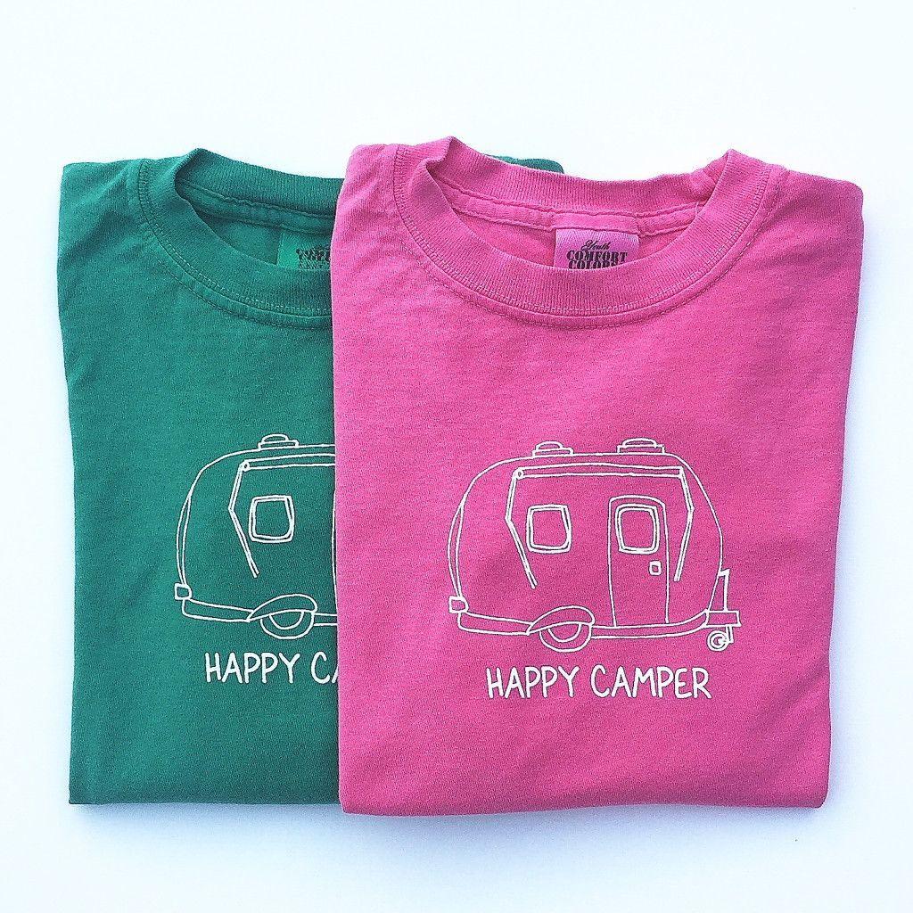 Happy Camper Long Sleeve Tee