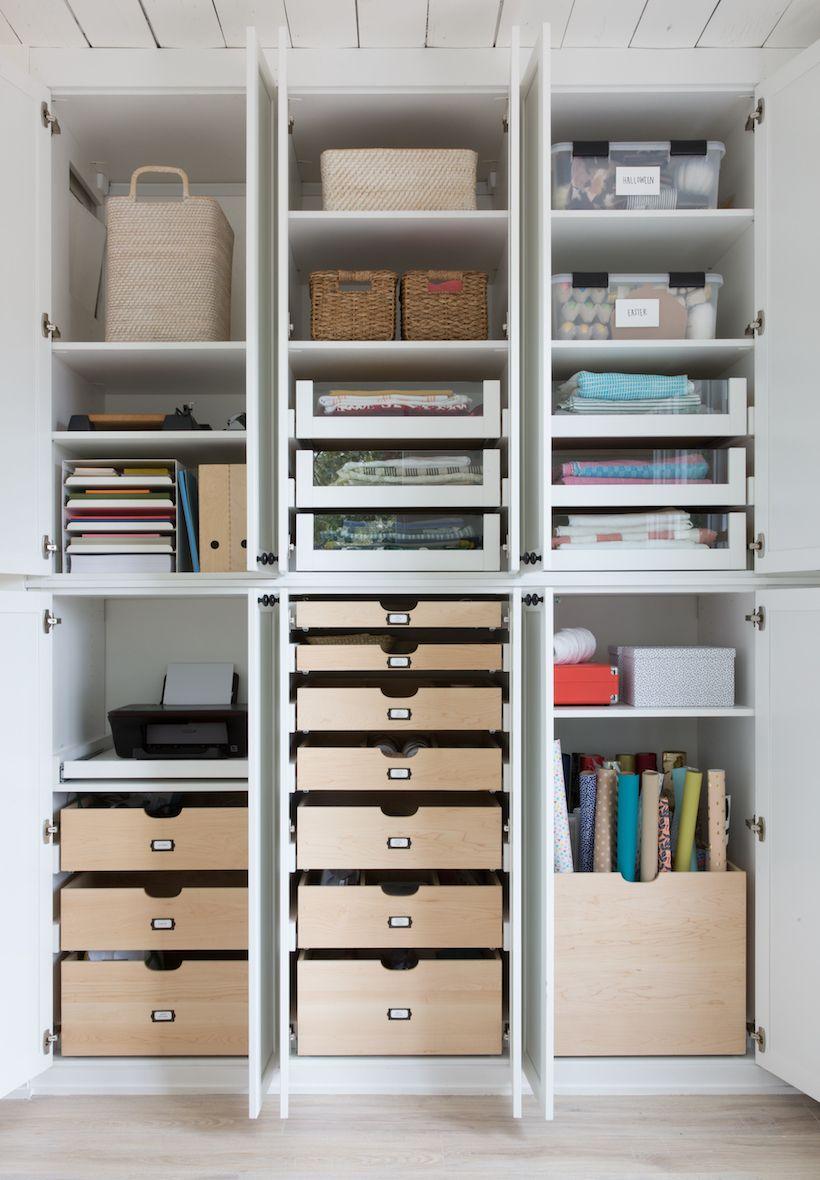 Our New Craft Room is an Organizer\'s Dream Come True | Mäuse und ...