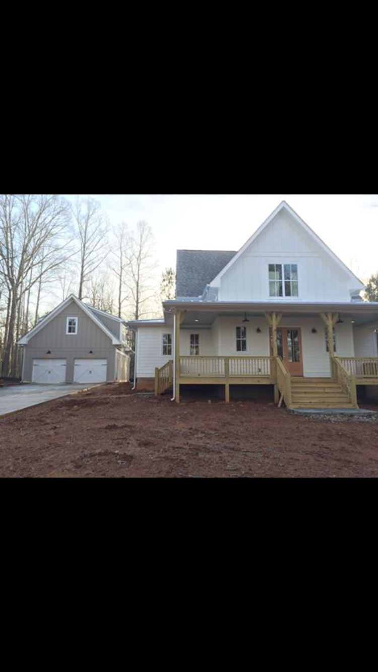 House 7 Red Barn Construction | Four Gables Farmhouse Inspiration ...