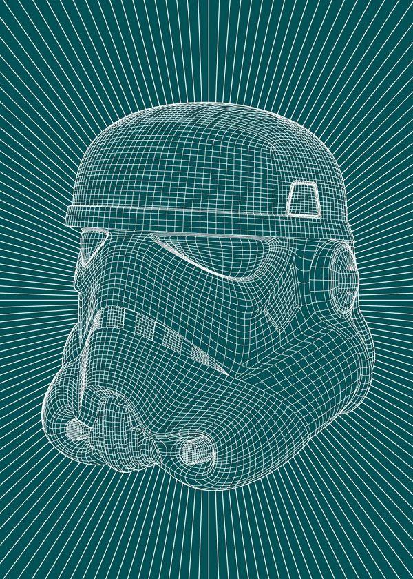 "Official Star Wars Negative Illusion Wars Trooper #Displate explore Pinterest""> #Displate artwork by artist… | Displate thumbnail"
