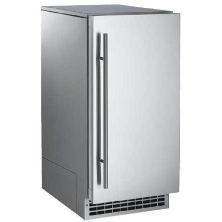 Scotsman Brilliance 80 Lb 15 Inch Outdoor Rated Nugget Ice Machine With Gravity Drain Stainless Steel Scn60ga 1ss Stainless Steel Cabinets Stainless Steel Doors Tall Cabinet Storage
