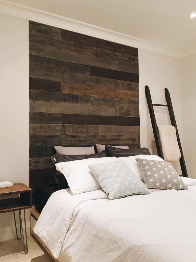 AS-IS Wood Walls (Black-ish) [Living, Family, Dining Room, Bedroom