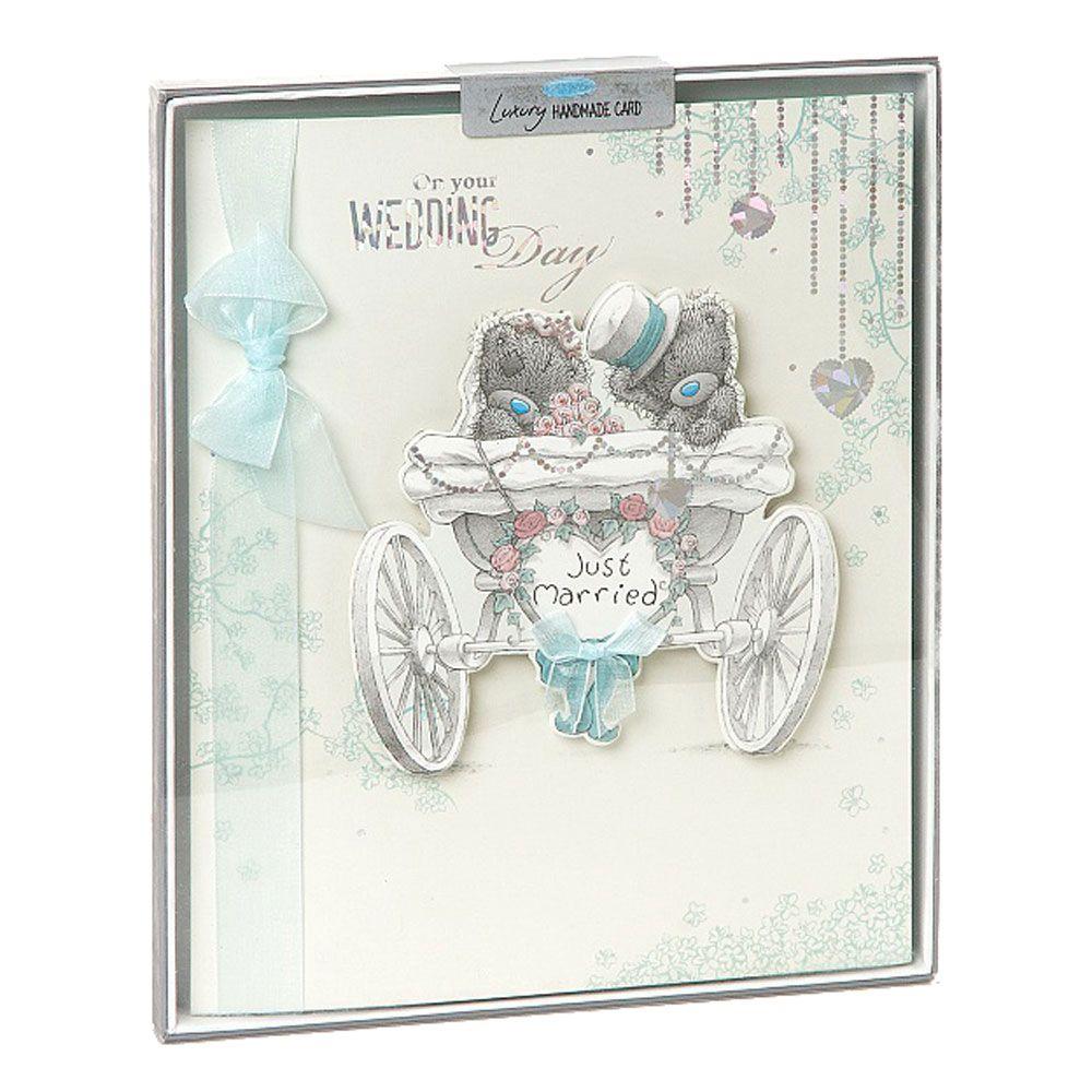 Wedding Day Me to You Bear Handmade Boxed Card £5.99 | Wedding ...