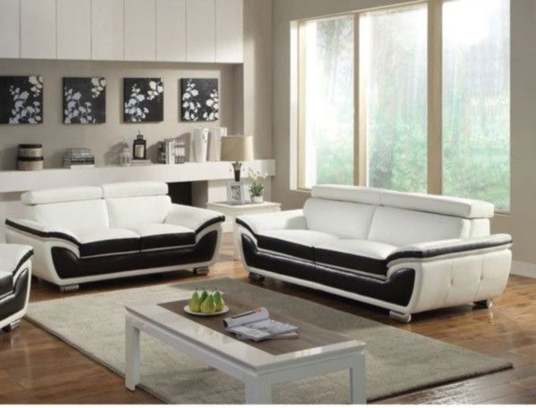 Astonishing Acme Furniture Olina 2 Piece Bonded Leather Sofa Set In Dailytribune Chair Design For Home Dailytribuneorg