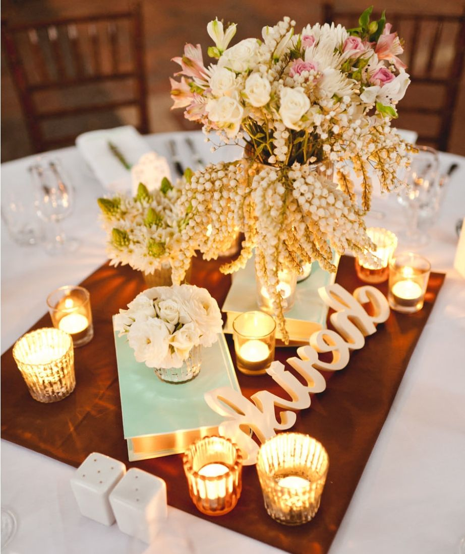 Good Country Wedding Centerpieces With Wedding Table Decor