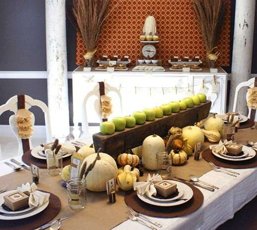 Thanksgiving Tablescape Ideas | Thanksgiving Tablescape Ideas + Apples    Four Generations One Roof