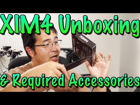 Xim4 Unboxing and Required Accessories for the PS4, Xbox One
