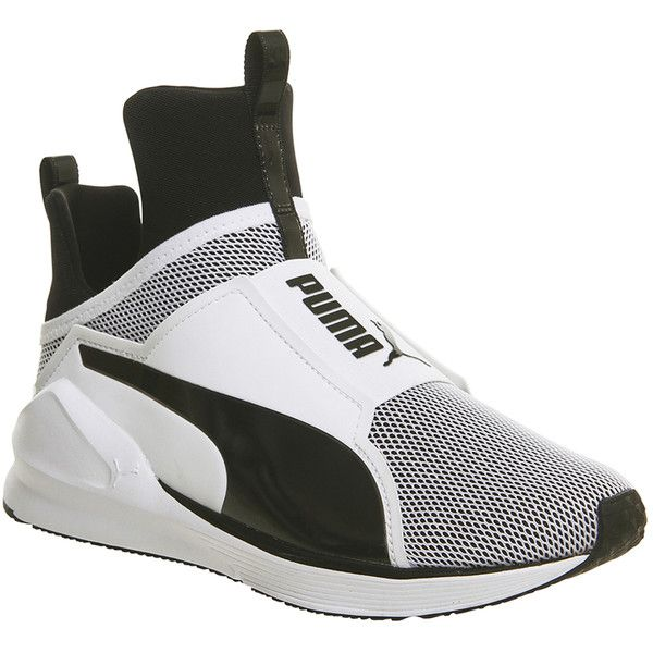 puma fierce white and black