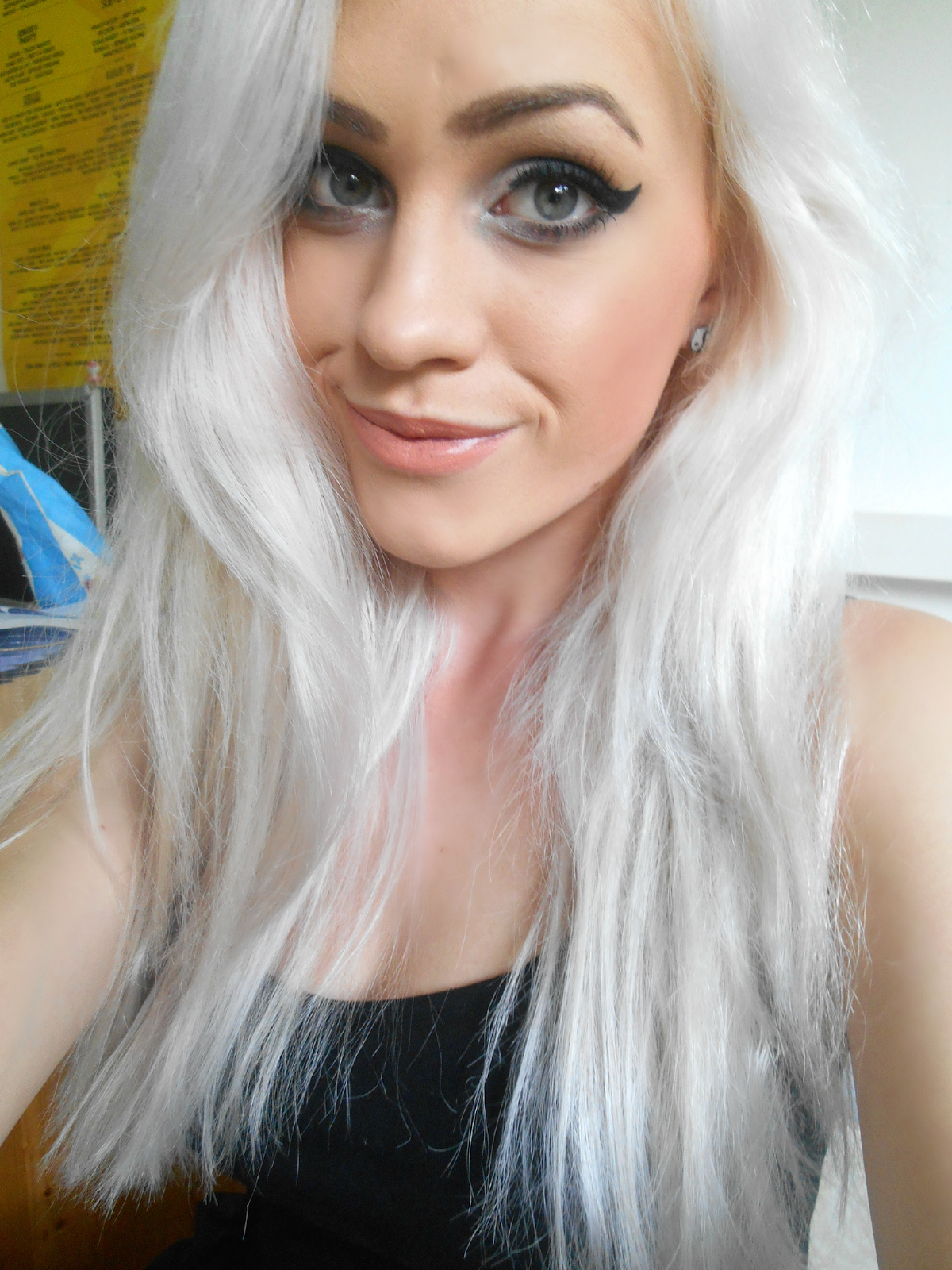 Silver White Hair Dye Www Imgkid Com The Image Kid Has It