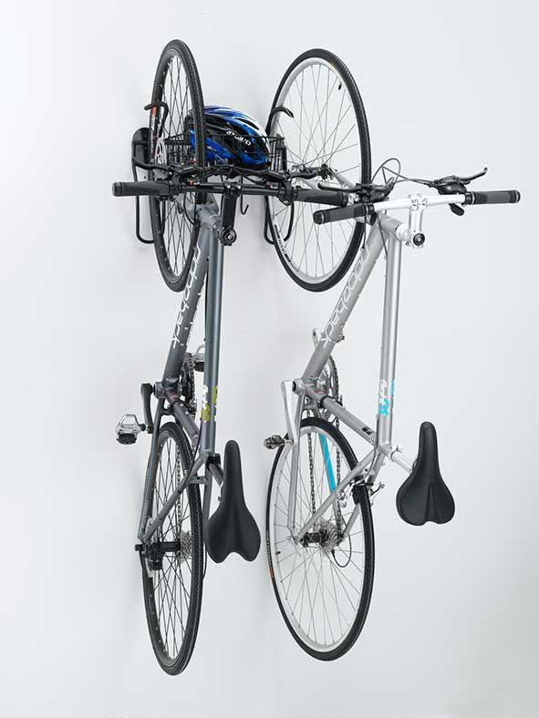 Off The Wall 2 Bike Vertical Rack Cycleracks Vertical Bike Rack Bike Storage Vertical Bike