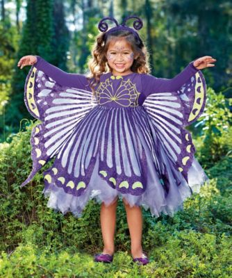 purple butterfly girls costume way over priced but cute idea ... 7d0c9c87698c