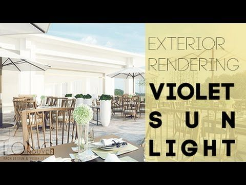 (Photoshop Tutorial For Architect) U2013 How To Render Exterior With Soft Light