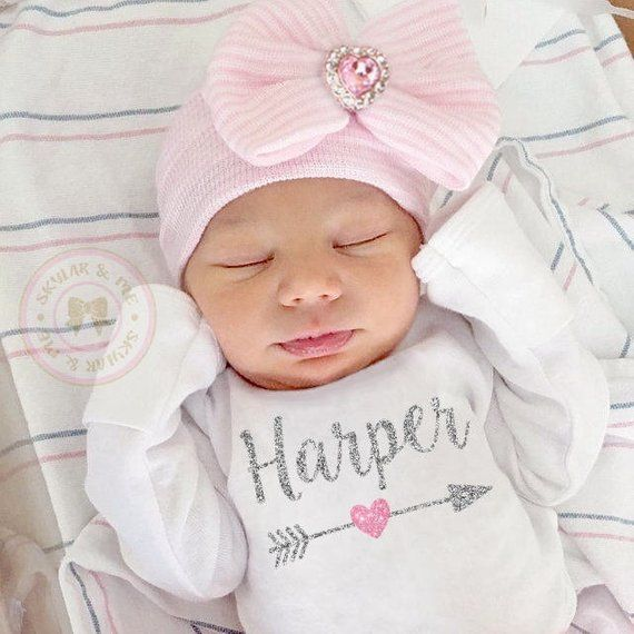 f39fa879e0ce7 PERSONALIZED baby girl gift, baby girl coming home outfit, newborn outfit, baby  girl clothing, baby