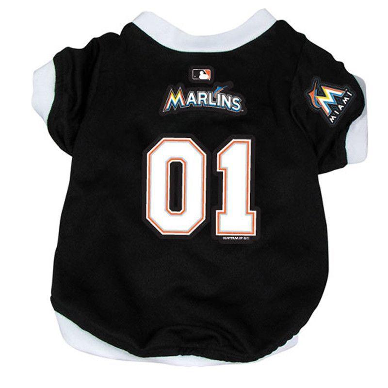 215121bc7de Miami Marlins Baseball Dog Jersey