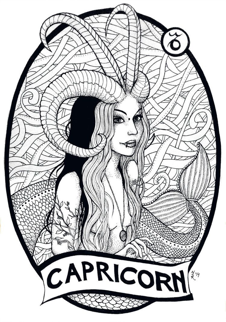 Capricorn By Massica Art On Deviantart Capricorn Art