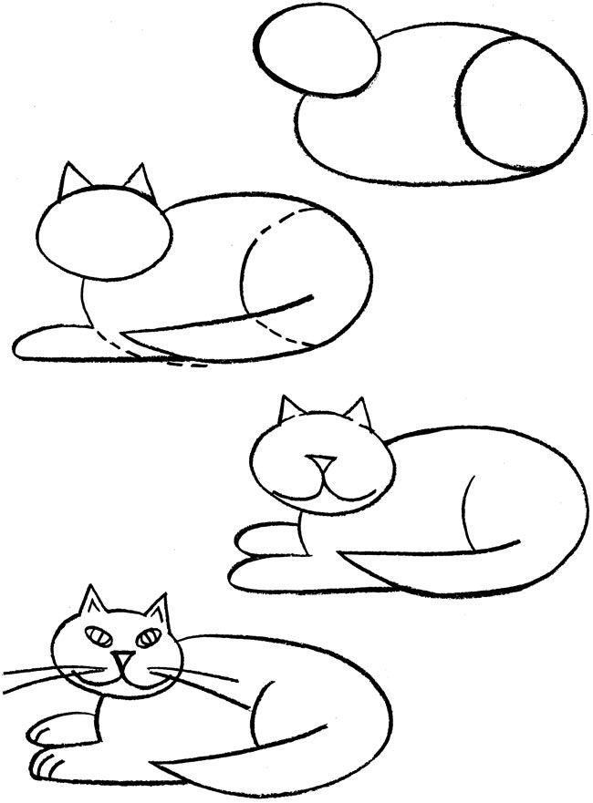 Welcome to Dover Publications  How to Draw Cats pg 2
