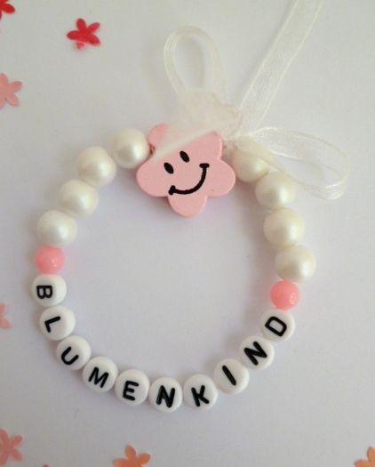 Blumenkind Armband Fur Blumenmadchen Blumenmadchen Ideen Fur Die Hochzeit Blumenkinder