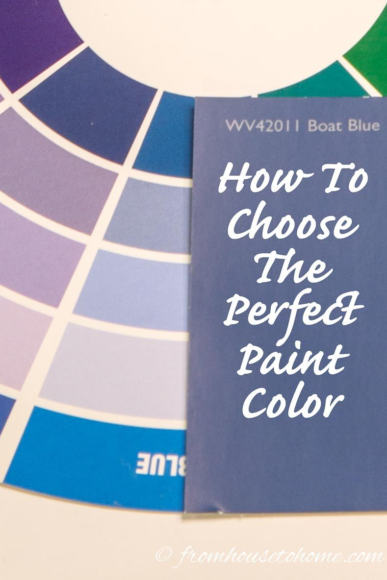 Trying To Choose A Paint Color And Just Can T Decide What Go With Try Out These Simple Steps For Choosing The Right