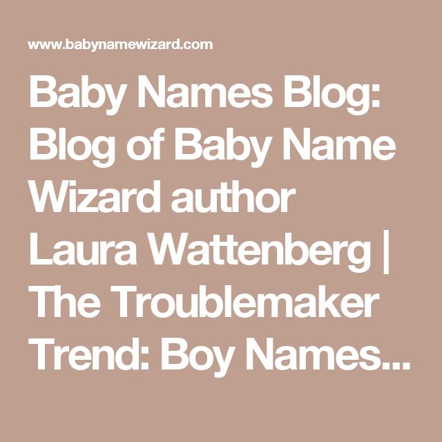 Troublemaker nicknames