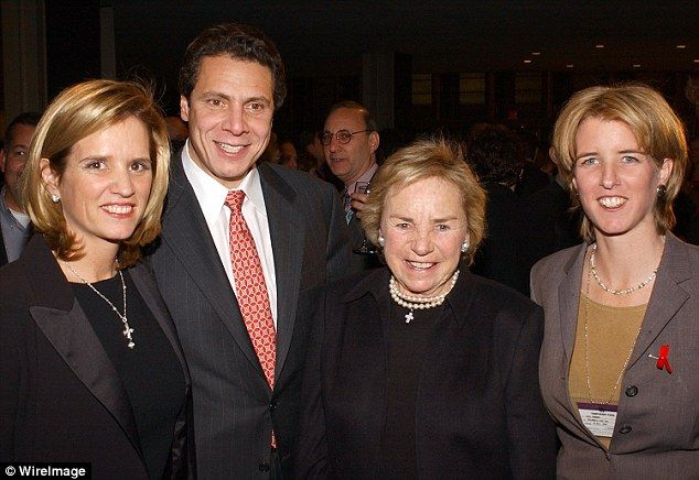 New York Governor Andrew Cuomo Never Paid Fair Share While Married Ethel Kennedy Andrew Cuomo Kennedy