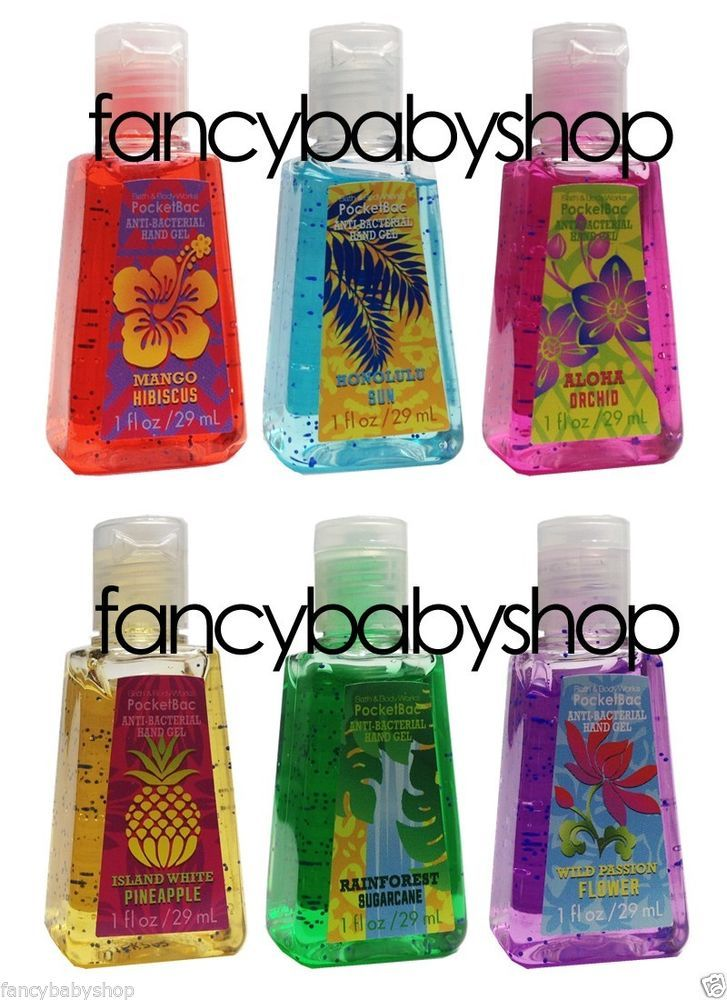 Bath Body Works Pocketbac Hand Sanitizer Gel Tropical Island