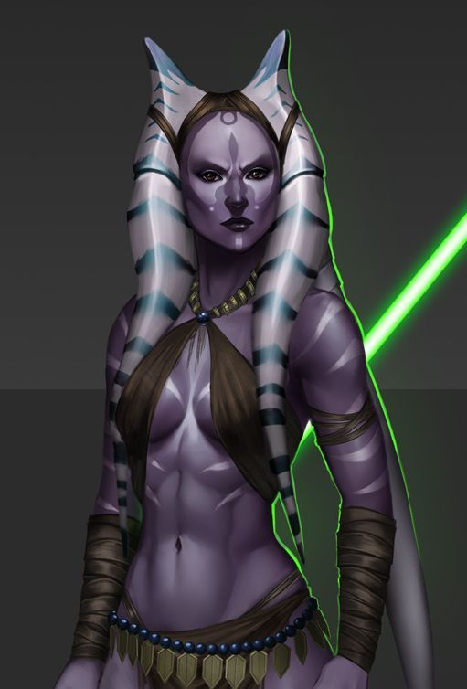 Star wars female jedi naked