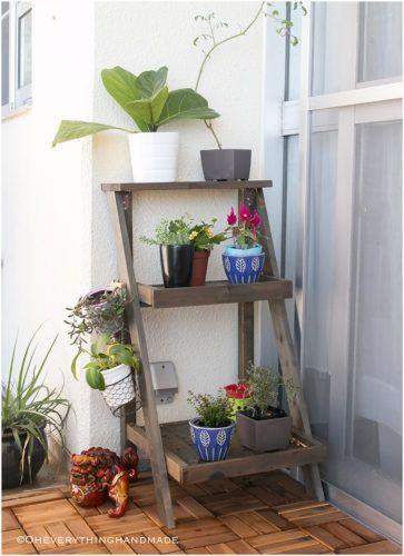 Small Balcony Makeover Balconies, Apartments and Storage - ideen fur kleine wohnzimmer