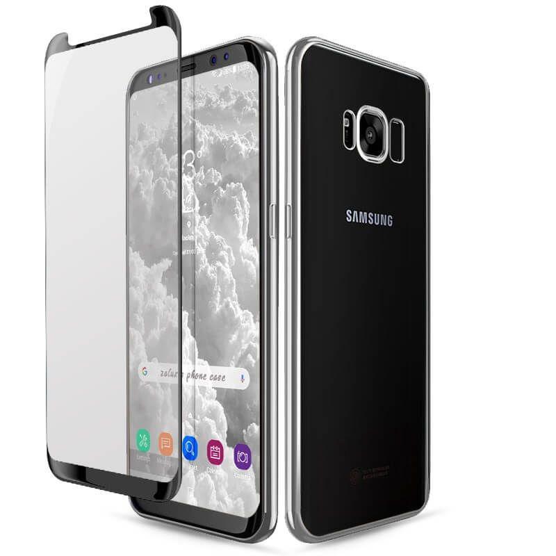 Samsung Galaxy S8 S8 Plus Schutzhulle Case 3d Gewolbtes Panzerglas In 2020 Samsung Galaxy Samsung Galaxy Phone